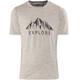 Bergans Explore Wool - Camiseta manga corta Hombre - gris